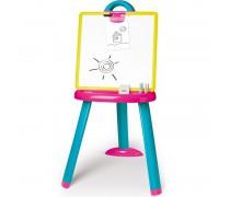 Sulankstoma dvipusė magnetinė piešimo lenta su priedais | Smoby 410608
