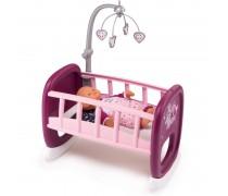 Lėlės supama lovytė su karusele | Baby Nurse | Smoby 220343