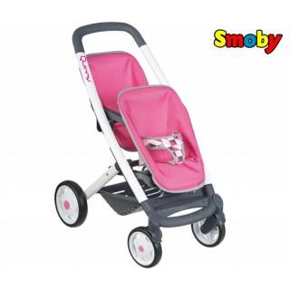 Lėlių vežimėlis dvynukams | Maxi Cosi Quinny 2019 | Smoby 253297