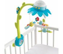 Muzikinė karuselė su drugeliais ir projektoriumi | Mėlyna | Smoby 110110