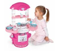 Rožinė virtuvėlė su priedais 17 vnt. | Hello Kitty | Smoby 310721