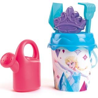Smėlio kibirėlis su priedais - Ledo karalienė | Frozen | Smoby 862092