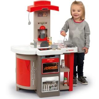 Sulankstoma virtuvėlė ant ratukų   mini Tefal   Smoby 312200