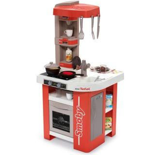 Vaikiška virtuvėlė mini Tefal Studio su priedais 27 vnt   Smoby 311042