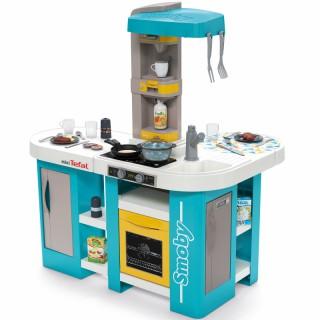 Vaikiška virtuvėlė su priedais 34 vnt   mini Tefal Studio XL Bubble   Smoby 311045