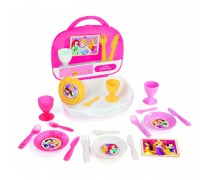 Vaikiškas arbatos rinkinys lagamine | Disney Princess | Smoby