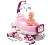 Vaikiškas elektroninis lėlės priežiūros rinkinys su priedais | Baby Nurse | Smoby 220347