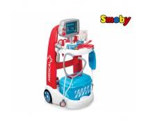 Vaikiškas gydytojo elektroninis vežimėlis su priedais | Smoby 340202