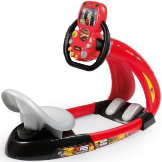 Vaikiškas interaktyvus lenktynių simuliatorius   Cars XRS   Smoby 370215
