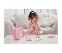 Vaikiškas medinis kosmetikos rinkinys krepšyje | Classic World 54402