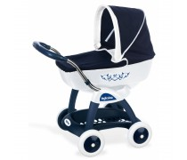 Mėlynas vežimėlis lėlei 42 cm | Deep Chuli Pop Car Inglesina | Smoby 251181