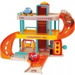 Žaibo Makvyno garažas su trasa ir automobiliu | Vroom Planet | Smoby 120424