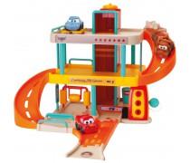 Žaibo Makvyno garažas su automobiliu | Vroom Planet | Smoby 120424