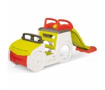 Žaidimų automobilis su čiuožykla ir smėlio dėže | Smoby 840205