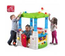 Edukacinis veiklos centras - žaidimų namelis | WonderBall Fun House | Step2 8539