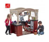 Vaikiška interaktyvi virtuvėlė su priedais 103 vnt | Grand Walk-In Kitchen | Step2 8562
