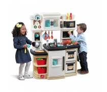 Vaikiška interaktyvi virtuvėlė su priedais | Great Gourmet Kitchen | Step2 8680