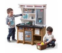 Vaikiška interaktyvi virtuvėlė su priedais | LifeStyle Custom Kitchen | Step2 8569