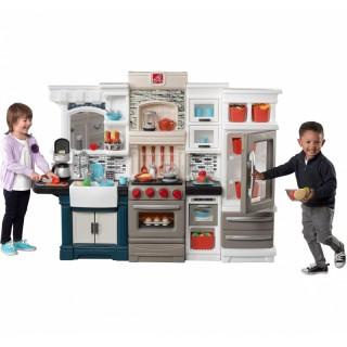 Vaikiška virtuvė su priedais 78 vnt | Grand Luxe | Step2 8682