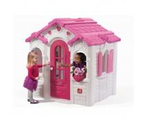 Vaikiškas namelis su širdelėmis | Step2 8519