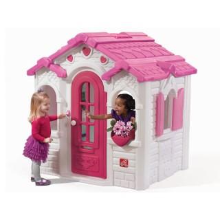 Vaikiškas namelis su širdelėmis   Step2 8519