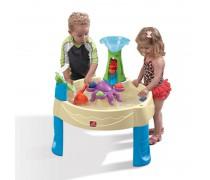 Vandens-smėlio žaidimų stalas su malūnu | Wild Whirlpool Water Table | Step2 840100