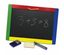 Medinė pakabinama dvipusė piešimo - magnetinė lenta | Viga 56203