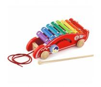 Medinis ksilofonas | Lenktyninis automobilis | Viga
