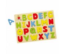 Medinė dėlionė | Didžiosios raidės | Viga 58543