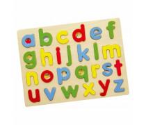 Medinė dėlionė | Mažosios raidės | Viga 58578