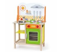 Medinė vaikiška virtuvėlė | Viga 50957