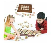 Medinis atminties lavinimo žaidimas su abėcėle | Memory | Viga 50535