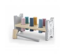Medinis kalamas žaislas su plaktuku | PolarB | Viga 44009