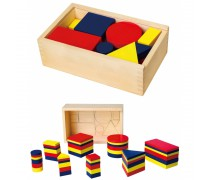 Medinis loginis žaidimas | Geometrinės figūros | Viga 56164
