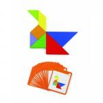 Medinis magnetinis žaidimas   Tangram   Viga 50643