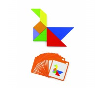 Medinis magnetinis žaidimas | Tangram | Viga 50643