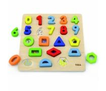 Medinis skaičių ir geometrinių figūrų rūšiuoklis | Viga 50119