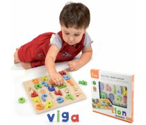 Mokomoji lenta su mažosiomis raidėmis | Alphabet | Viga 50125