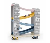 Žaislinių medinių mašinėlių trasa | PolarB | Viga 44013
