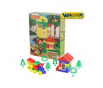 Kaladėlių rinkinys 170 vnt dėžutėje | Builder | Wader 03447