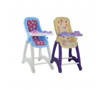 Maitinimo kėdutė lėlytei su priedais | Wader