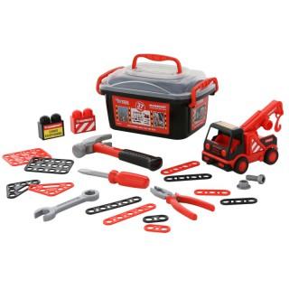 Mašinėlės ir įrankių rinkinys dėžėje | Mammoet | Wader