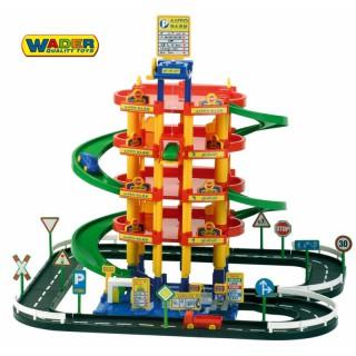 Penkių aukštų garažas su 3 automobiliais   Grand Tor   Wader 38104