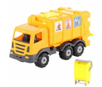 Šiukšliavežė su konteineriu | Wader