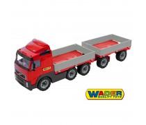 Volvo sunkvežimis su priekaba 75 cm | Wader 9487