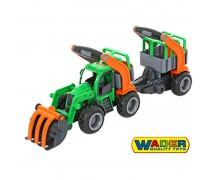 Traktorius su priekaba 48 cm | Wader