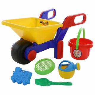 Karutis su smėlio žaislų rinkiniu | Wader 41838