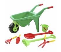 Vaikiškas karutis su sodo įrankiais 7 vnt | Wader