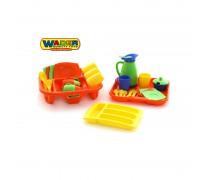 Virtuvės reikmenų rinkinys su priedais | Wader 40718