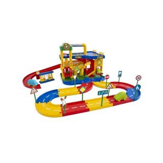 Žaislinė automobilių stovėjimo aikštelė   2  aukštų   Wader 37831